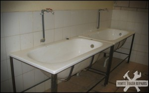 Bathtub sinks – White Trash Repairs