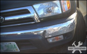 Foiled Repair – White Trash Repairs