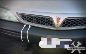 California Bumper Repair – White Trash Repairs