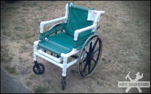 Redneck Wheelchair – White Trash Repairs