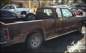 Blend the rust in – White Trash Repairs