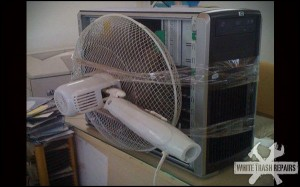 Computer Tower Fan – White Trash Repairs