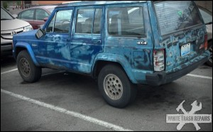 Camo Blue Paint – White Trash Repairs