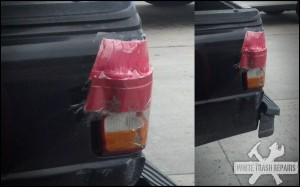 Red Solo Light – White Trash Repairs