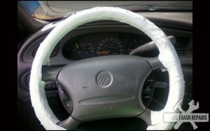 steering wheel cover – White Trash Repairs