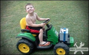 Redneck Power Wheels – White Trash Repairs