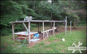 Bubba's Hot Tub – White Trash Repairs