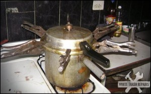 Secure Pressure Cooker – White Trash Repairs
