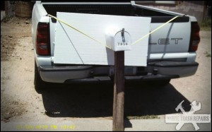 Mailbox Removal – White Trash Repairs
