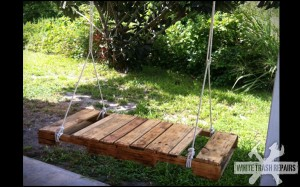 Pallet Swing – White Trash Repairs