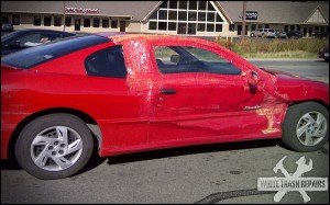 Behold, the power of red? – White Trash Repairs