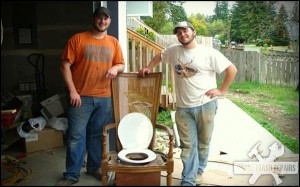 Custom Crapper – White Trash Repairs