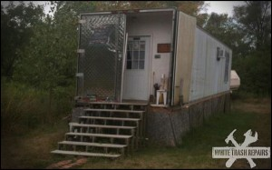 Trailer Park Storm Doors – White Trash Repairs