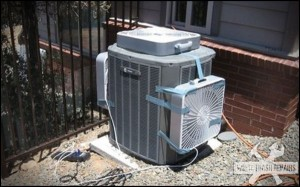 Cooling the AC – White Trash Repairs