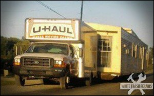 UHAUL The Trailer Park – White Trash Repairs