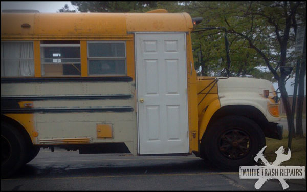 Short Bus Living – White Trash Repairs