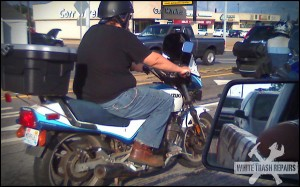 Motorcycle Mod – White Trash Repairs
