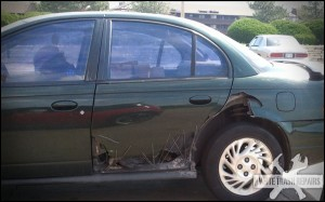 Ugly Car Door Stitches – White Trash Repairs