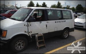 Mr. Fix It All, except the van – White Trash Repairs