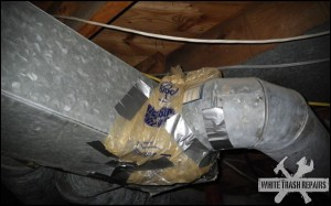 AC Duct Ducted – White Trash Repairs