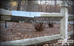 Ducted Fence – White Trash Repairs