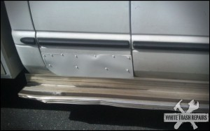 Sheet Metal Fix – White Trash Repairs