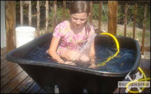 Redneck Kid Pool – White Trash Repairs