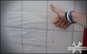Bathroom Tile Repair – White Trash Repairs