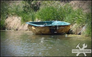 Floating Hot Tub – White Trash Repairs