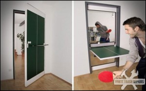 Ping Pong Door – White Trash Repairs