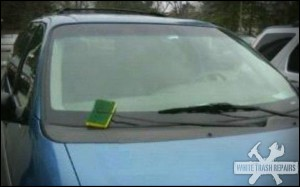 Sponge Window Wiper – White Trash Repairs