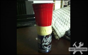 True Redneck Wine Glass – White Trash Repairs