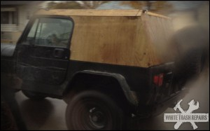 Jeep Top Fix – White Trash Repairs