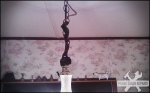 Hanging Lamp Repair – White Trash Repairs