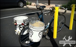 Bucket Bike – White Trash Repairs