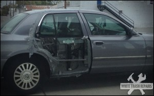 See thru + duct tape – White Trash Repairs