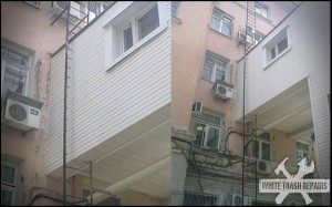 Skinny Fire Escape – White Trash Repairs