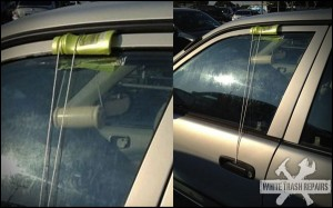 Car Door Pully – White Trash Repairs