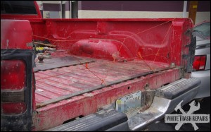 Keeps the big stuff in – White Trash Repairs