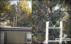 Redneck TV antenna – White Trash Repairs
