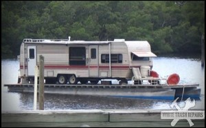 House Boat – White Trash Repairs