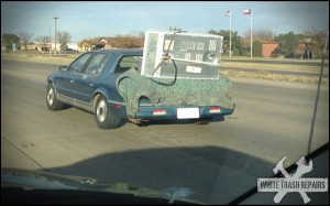 No truck? No problem!! – White Trash Repairs
