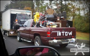 In Tow – White Trash Repairs