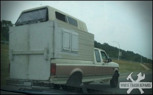 Homemade Camper – White Trash Repairs