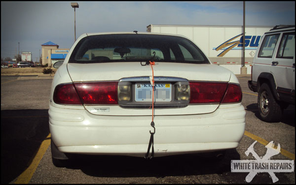 Bungee Cord Buick – White Trash Repairs
