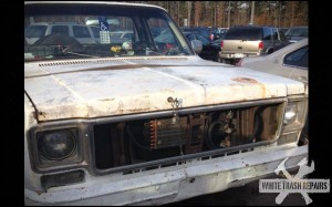 Pissed Truck Owner – White Trash Repairs