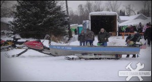 Snow Boating – White Trash Repairs