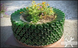 Beer Bottle Planter – White Trash Repairs
