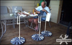 Paper Towel Stand – White Trash Repairs