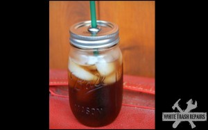 Mason Jar Travel Cup – White Trash Repairs